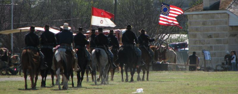 Cavalry at Historic Fort Stockton